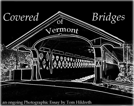 covered bridges of vermont in black and white by tom hildreth