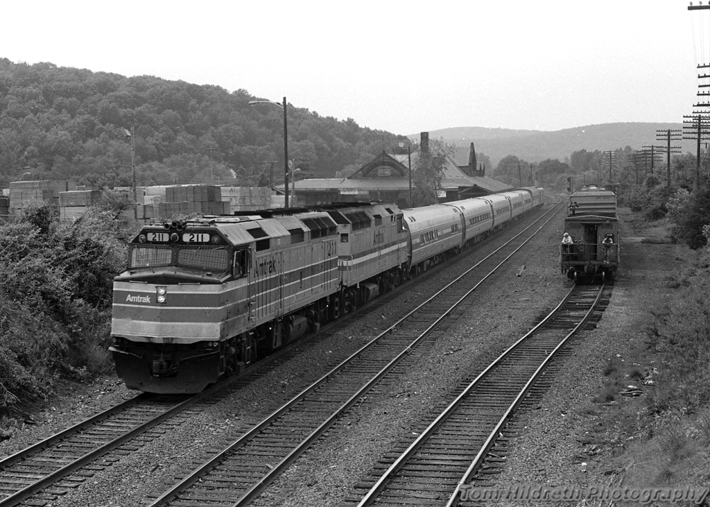 emd aem 7 trains of amtrak part ii